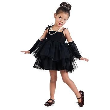 Hollywood Film Star Costume Children Ballerina Dress Girls with Cuffs Black - 1 Jahr  sc 1 st  Amazon UK & Hollywood Film Star Costume Children Ballerina Dress Girls with ...