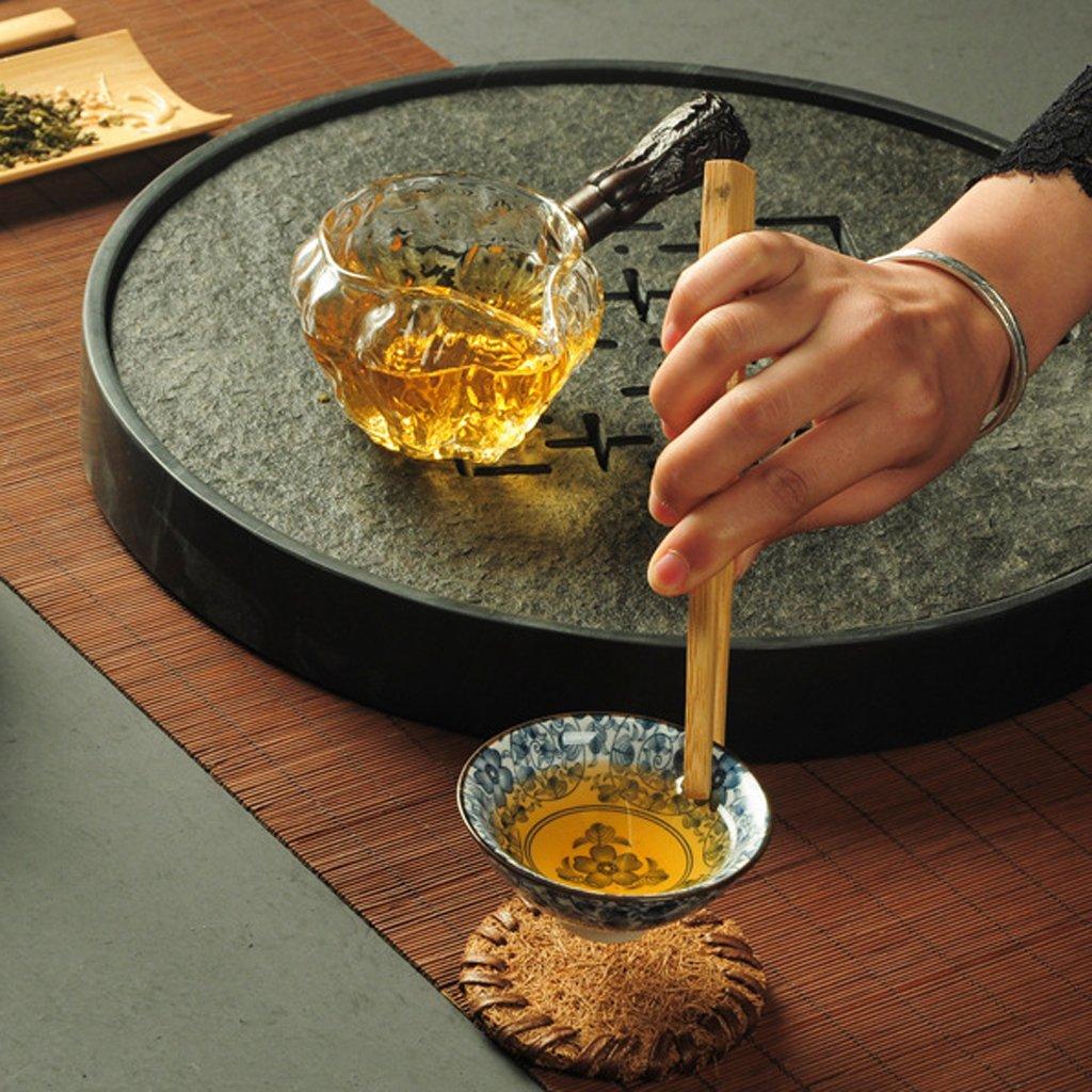 Sharplace Japanische Bambus Chasen Matcha Tee Pr/äsentationsbeh/älter//Tee Schaufel//Tee Zangen//Tee Nadel