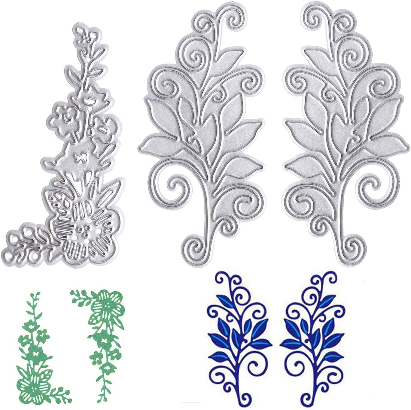 Shrub Flower Metal Cutting Dies Stencil DIY Scrapbooking Paper  Embossing Crafts