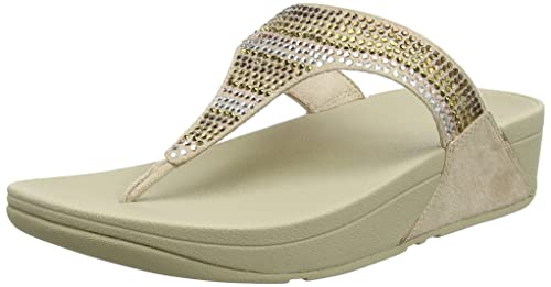 f251d4c93ac7 Fitflop Women s Strobe Luxe Toe-Thong Sandals Open  Amazon.co.uk ...