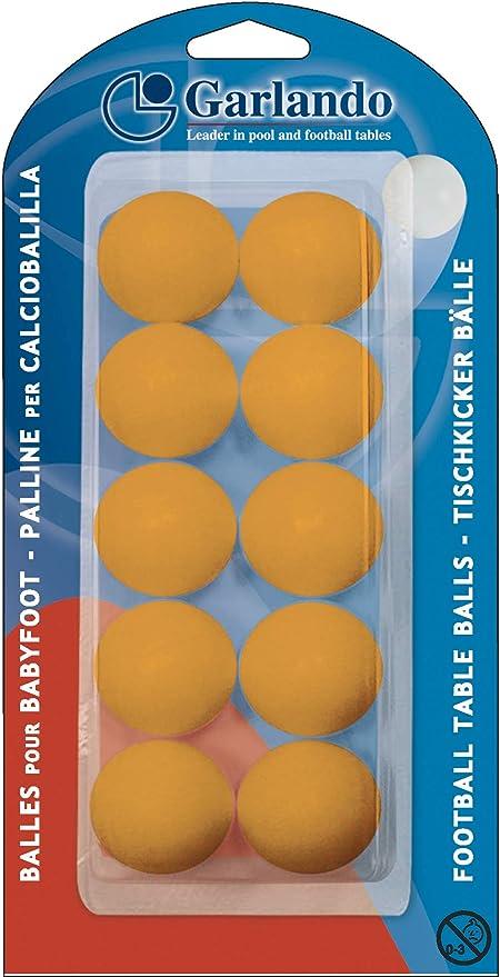 SET 3 PALLINE ARANCIO standard per CALCIO BALILLA GARLANDO