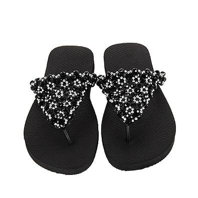 new style e7a8f 6b09e Luxus Flip Flops-Chanclas Exclusivas Simone Herrera-Glamourous  Line-Carolina-Zehentrenner Riemchen Sandale