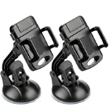 Etekcity 2 Pack Universal Car Cell Phone Mount Holder for iPhone Samsung Galaxy and more,Black