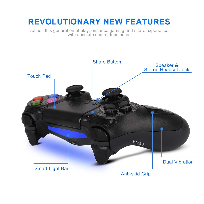 Amazon.com: Palillos inalámbricos con controlador PS4 – Dual ...