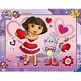 Ravensburger - 06611 - Puzzle Cadre  - Adorable Dora - 35 Pièces