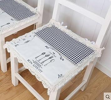 GYX Esstisch Und Stuhl Kissen Sitz Slim Klimatisierte Kissen Bürostuhl,  Studenten Bänke Bank Kissen Stuhl