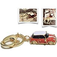 GEPARD Llavero Estilo Mini Cooper - Car Key Chain Mini Copper - Accesorio para Auto, Llavero
