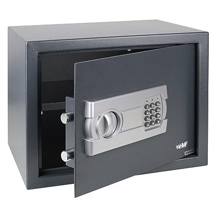 HMF – Caja fuerte con Cerradura electrónica, 380 x 300 x 300 mm
