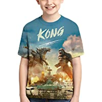 Dinosaur King T-Shirt Kids Youth Fashion 3D Print Teenagers Short Sleeve for Boys and Girls
