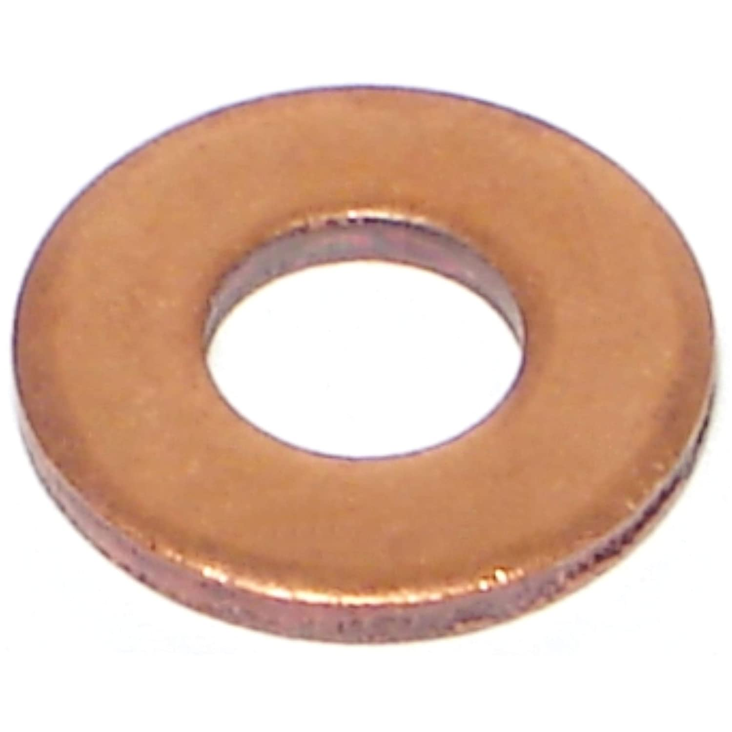 Hard-to-Find Fastener 014973137465 SAE Flat Washers 1//4 Piece-100
