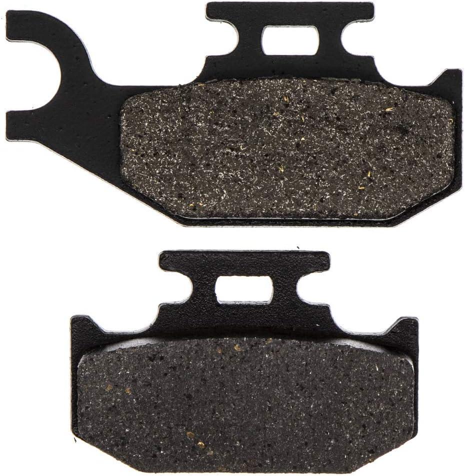 NICHE Rear Brake Pad Set For Yamaha 1S3-W0046-01-00 5UG-W0046-01-00 Semi-Metallic