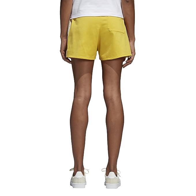 390a94f6777b5c adidas Originals Donna 314402 Pantaloncini - Giallo - 34 IT X-Small:  Amazon.it: Abbigliamento