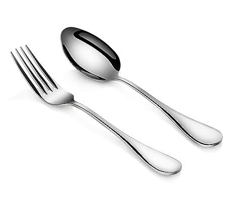 Amazon.com: Artaste 56426 - Juego de 6 cucharas y tenedores ...