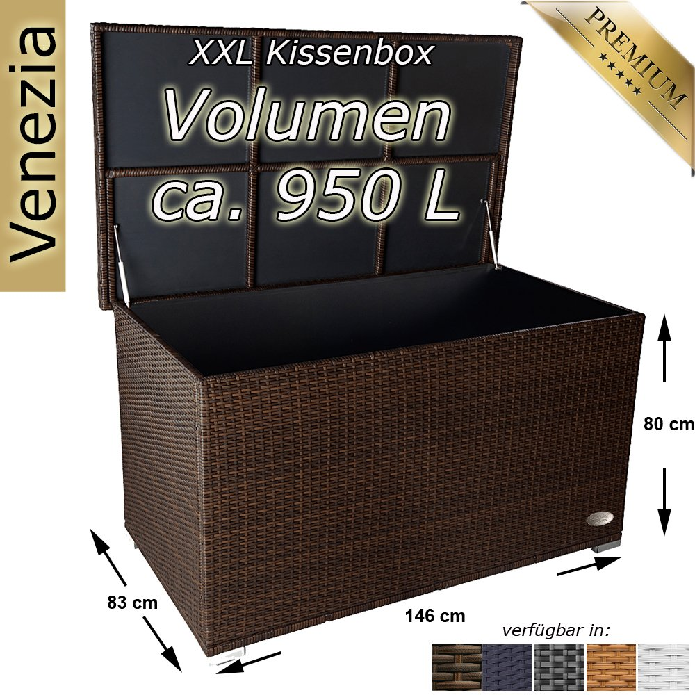*PREMIUM Kissenbox Venezia XXL*
