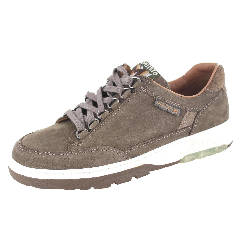Mephisto Zapatos de Cordones de Piel para Hombre 42 EU|marrón