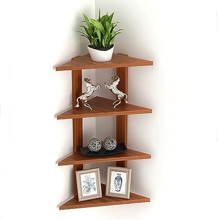 Wudville Braine Wall Corner Shelf/Display Rack