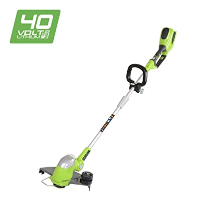 Greenworks Tools 30cm 40V Lithium-Ion Battery Trimmer/ Edger: Amazon