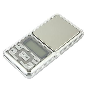 Portátil de viaje de alta precisión digital Moneda Weed bolsillo joyas báscula de cocina alimentos escala