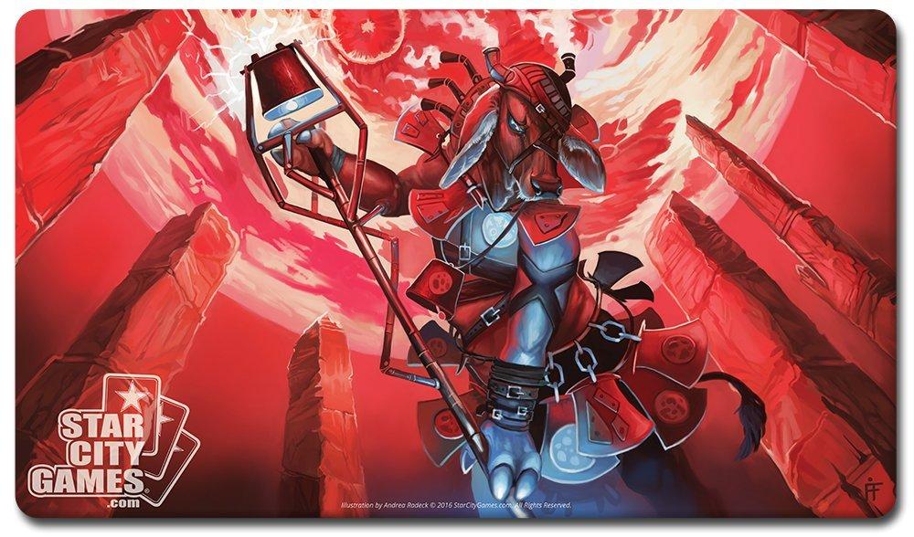 Promoción por tiempo limitado Star City Games Creature Collection Playmat: Magus of the Moo by StarCityGames