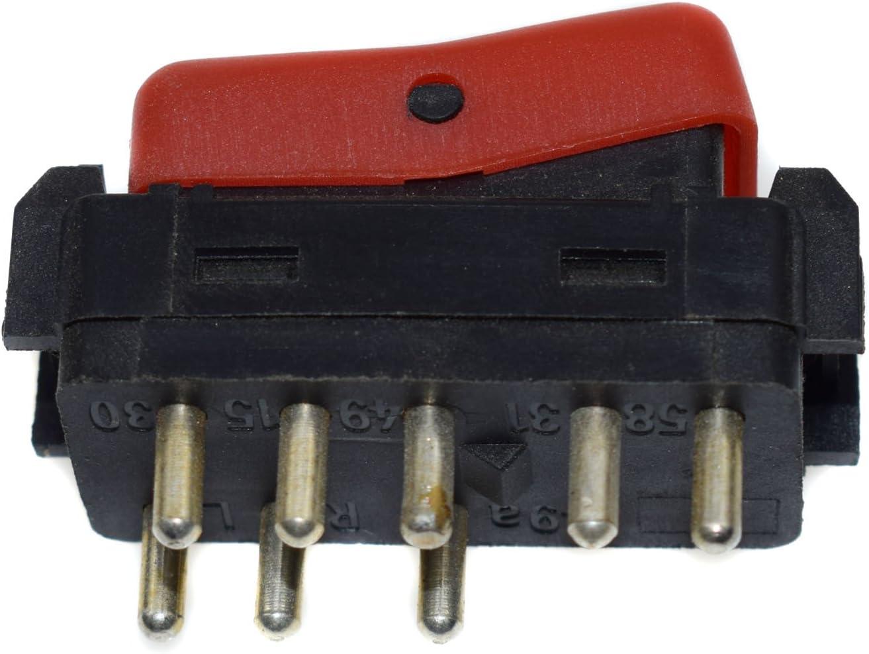 interruttore di emergenza pulsante 1248200110/per W124/W201/W202/500E 300/CE 400E 190E 300D E320 Attenzione pericolo luce lampeggiante