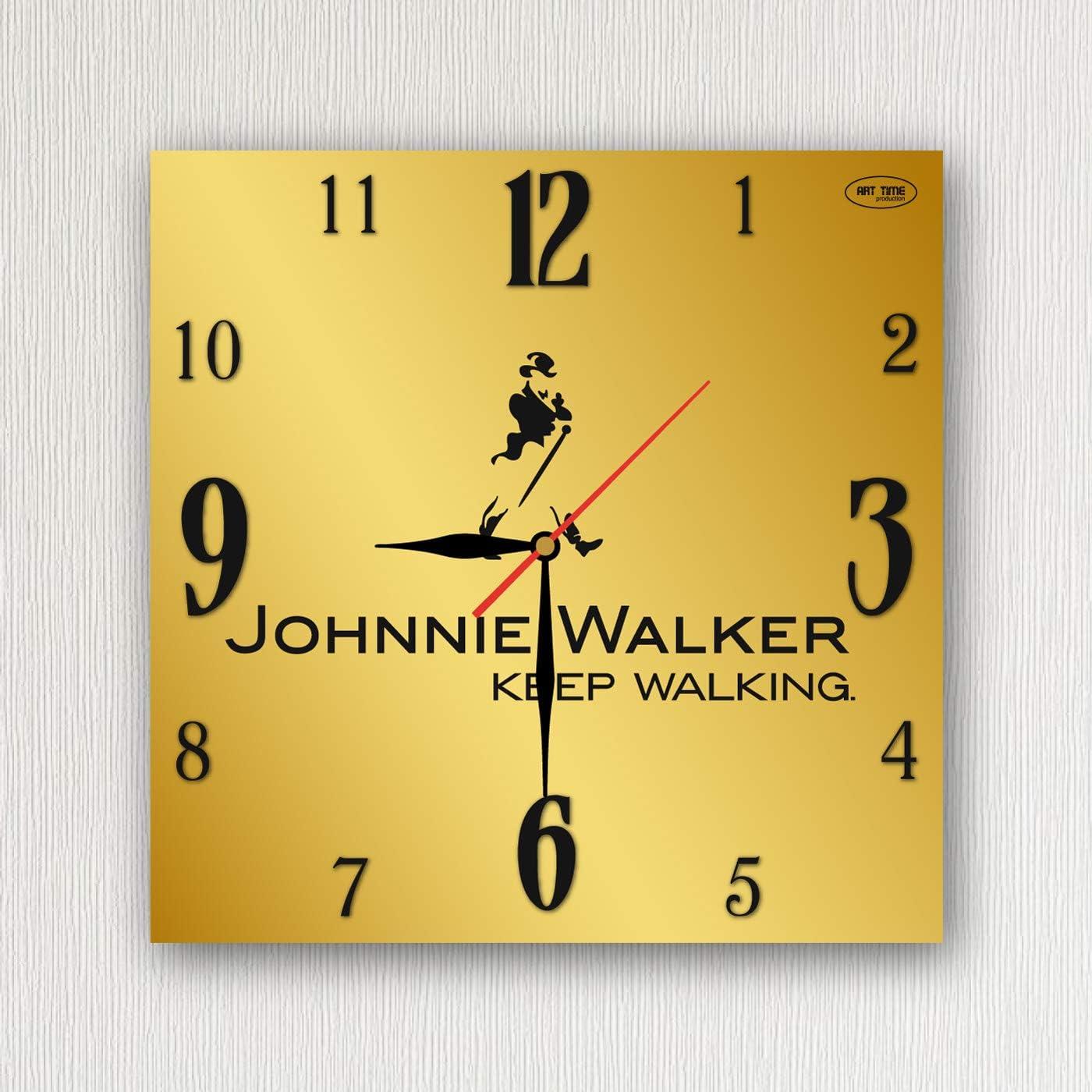 Johnnie Walker Exclusive Acrylic Glass Wall Clock