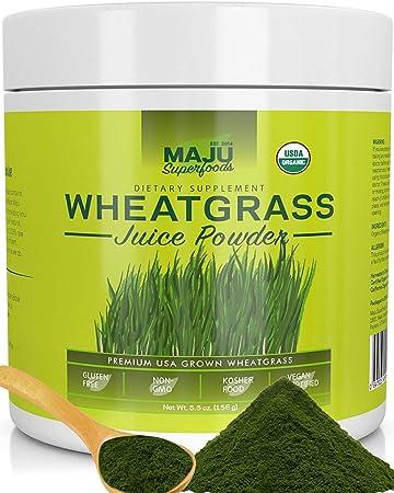 Amazon.com: Polvo de zumo de hierba de trigo orgánico: crece ...