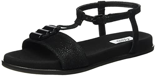41657061436 Clarks Women s Agean Cool Black Interest Leather Loafers and Moccasins -  3.5 UK India (