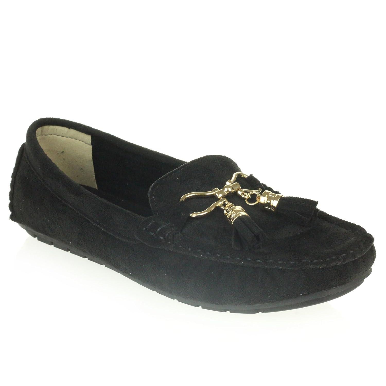 AARZ LONDON Femmes Noir Dames Confort Bureau Travail Loafer B01MTK857Z fermé Mocassins Bout fermé Plat Glisser sur Chaussures Taille Noir eb49166 - gis9ma7le.space