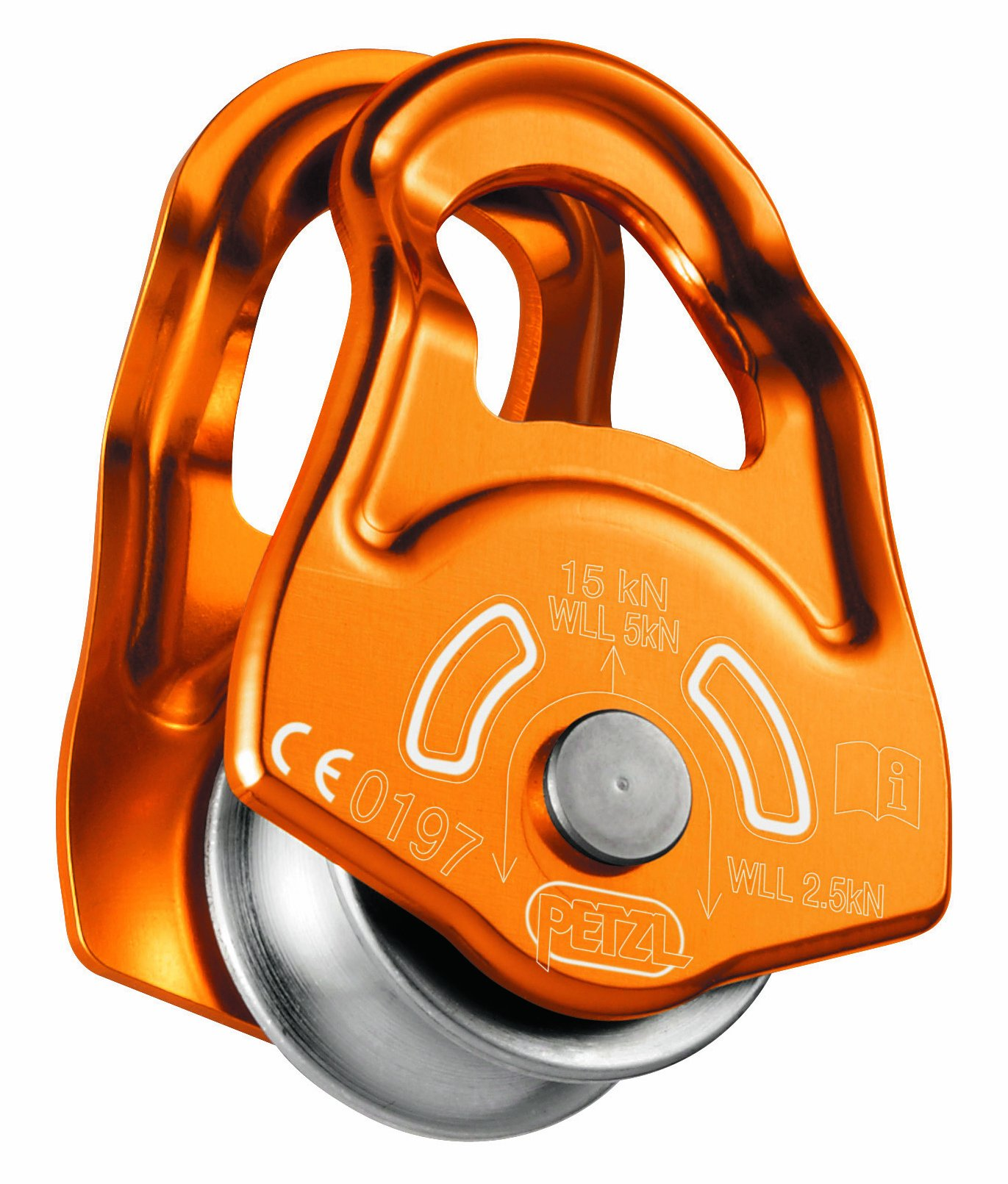 PETZL - Mobile, Versatile Ultracompact Pulley by PETZL