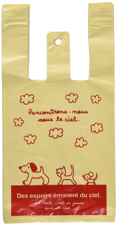 f7481954e61 Amazon.co.jp: 手提げ袋 レジ袋 スキップキッズ 犬 ネコ 動物-S (100枚) SPK-S: ホーム&キッチン