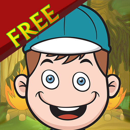 Scout Camp Bounce Wood Challenge : Gather wood for the night fire camp - Free Edition