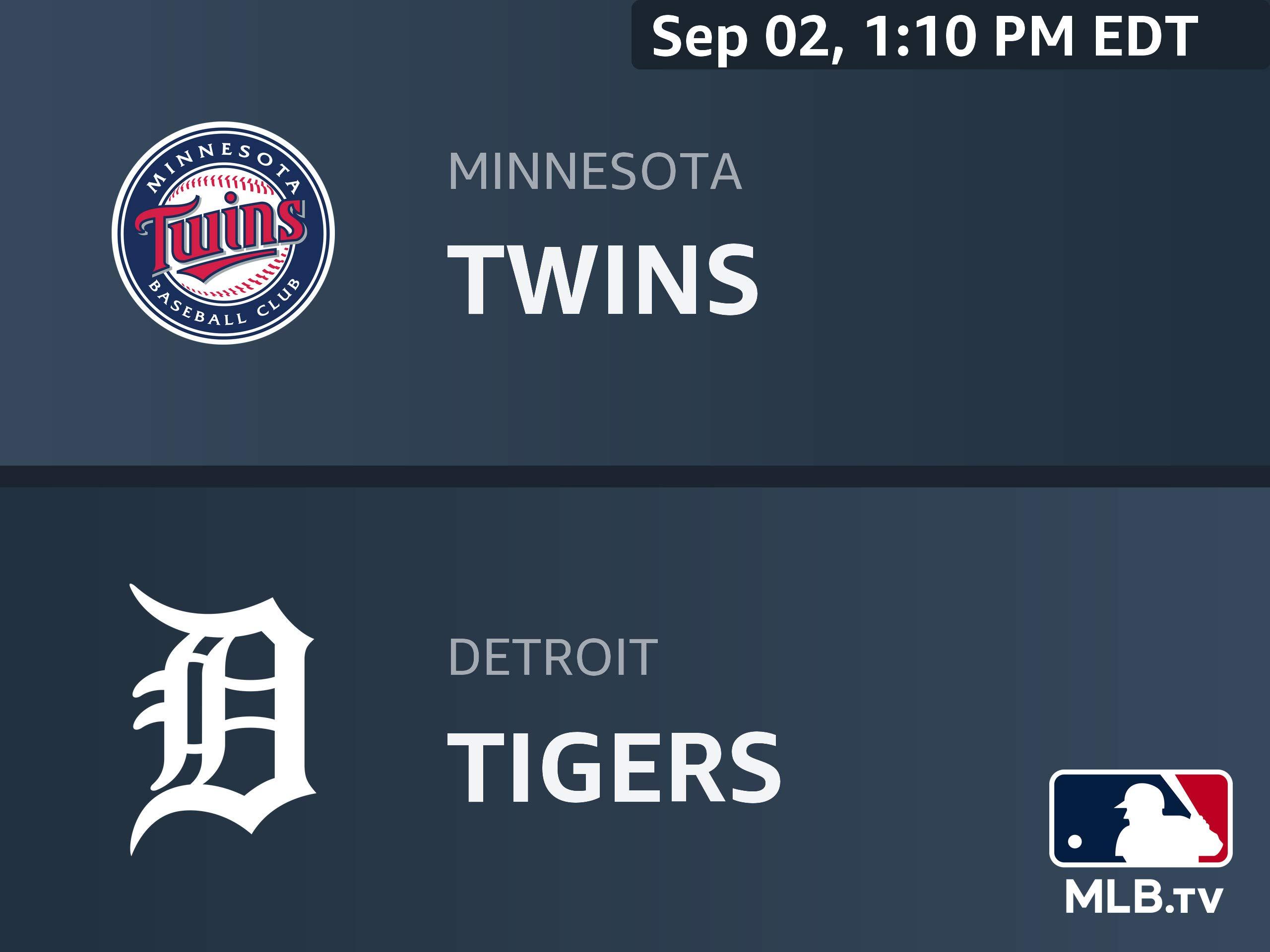 Amazon.com: Minnesota Twins at Detroit Tigers