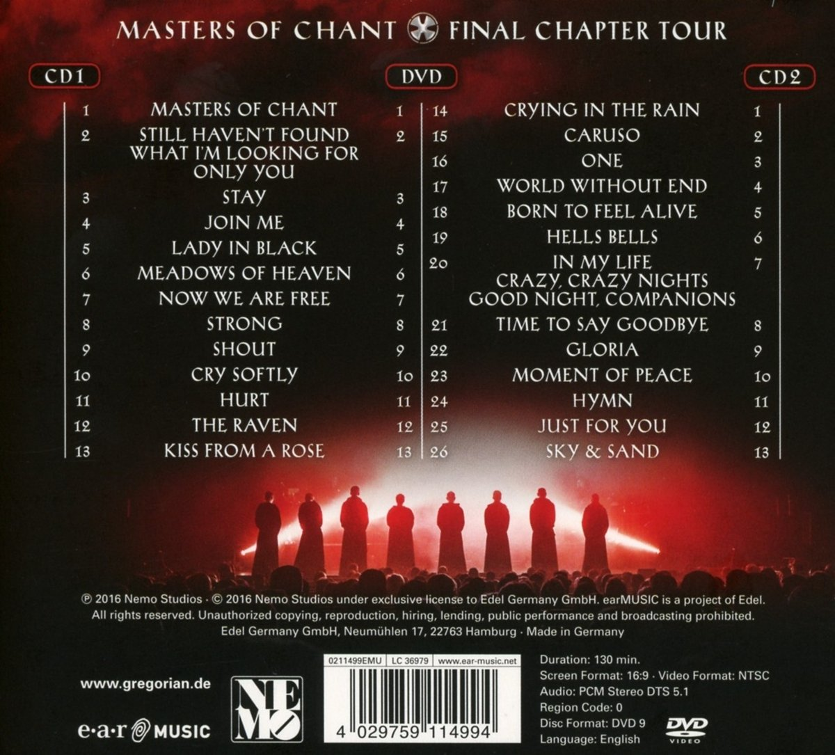 Live! Masters of Chant