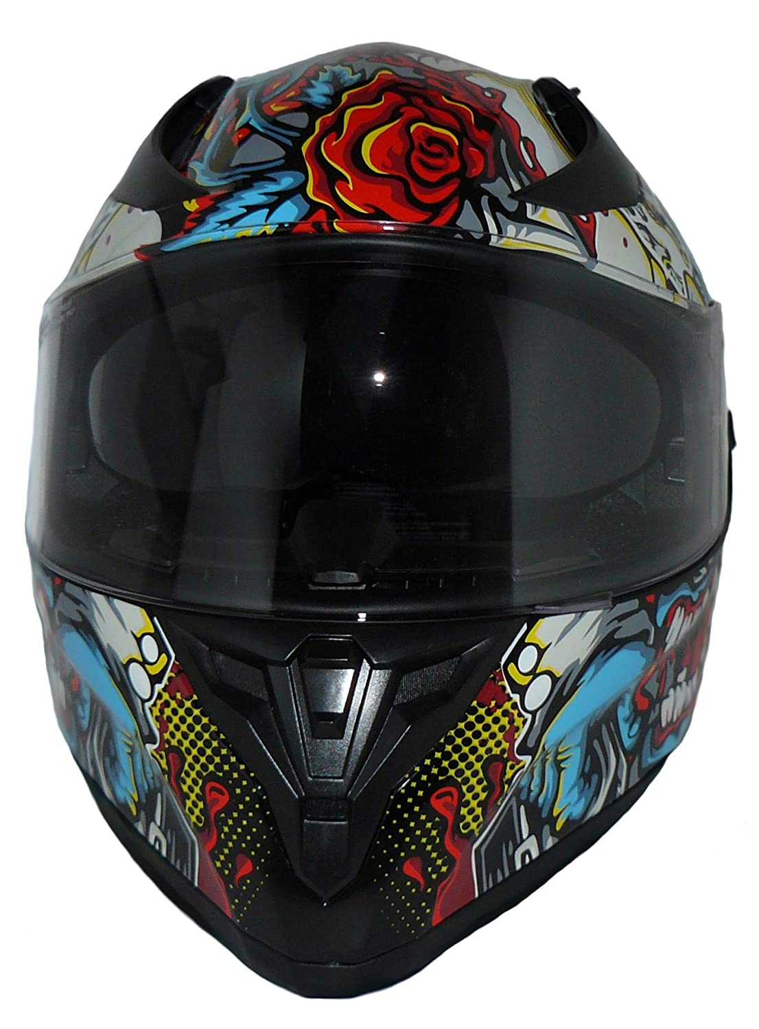 Protectwear V128-Mu-Xl Casco Integral Casco Completo V128-Mu Xl Multicolor