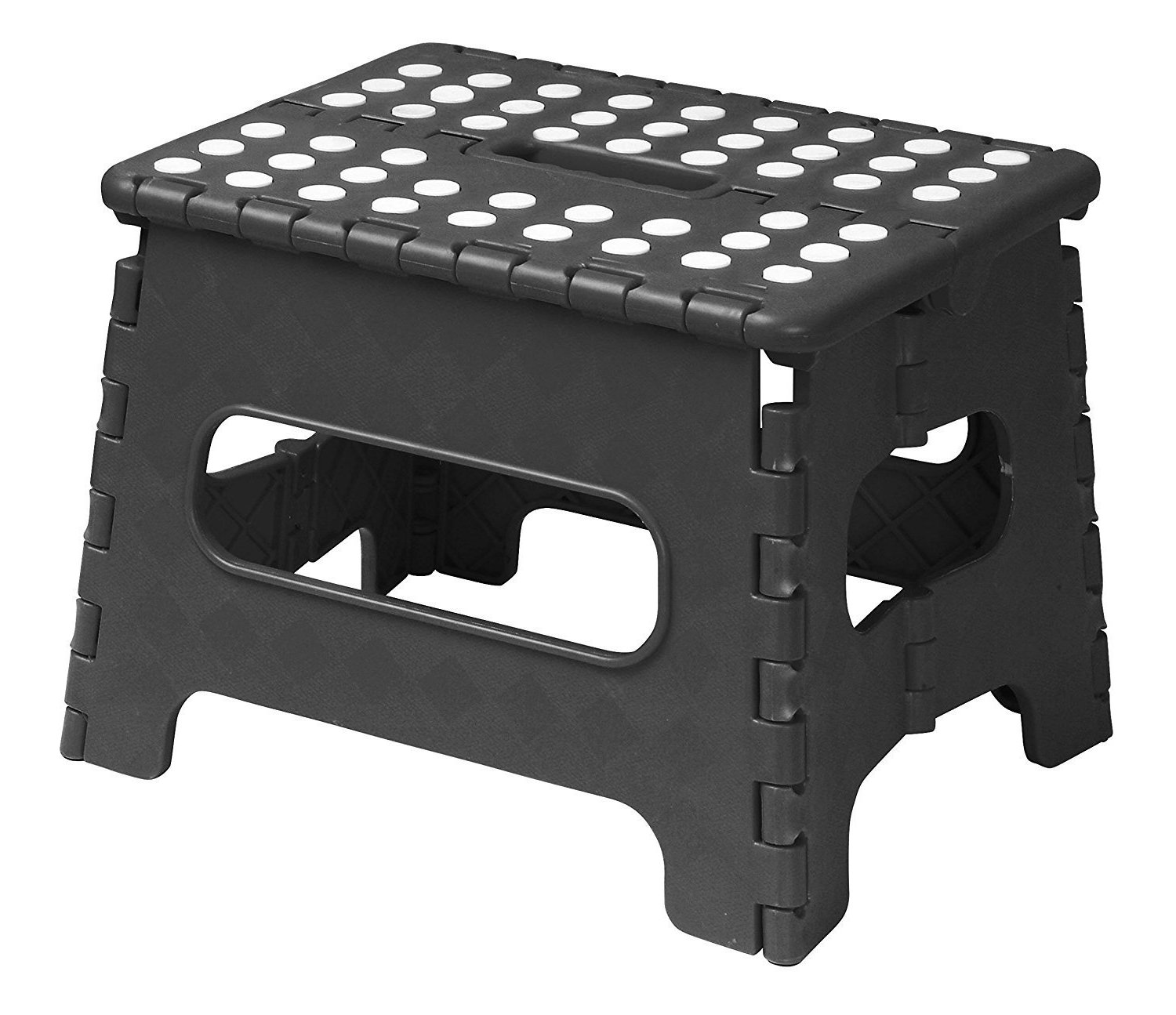 Acko 9 Quot X 11 Quot Black Folding Step Stool Great For Kids And