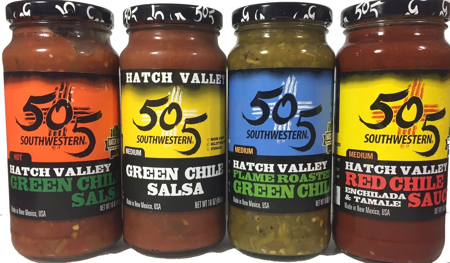505 Southwestern 16oz Jar Variety Pack Set of 4 by 505 Southwestern (Image #1)
