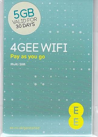 EE PAYG - Tarjeta SIM precargada con 24 GB de Datos Superast ...