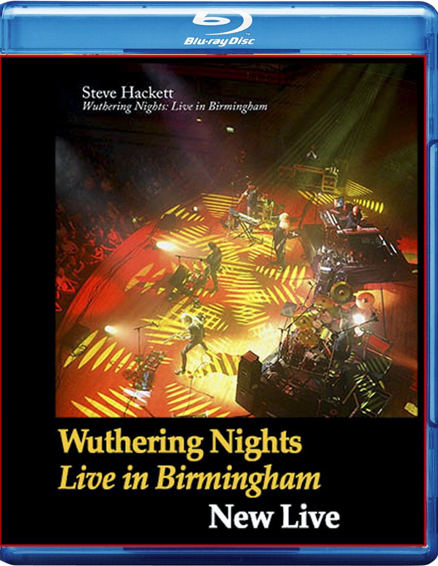 Blu-ray : Hackett, Steve - Wuthering Nights: Live In Birmingham (Germany - Import)