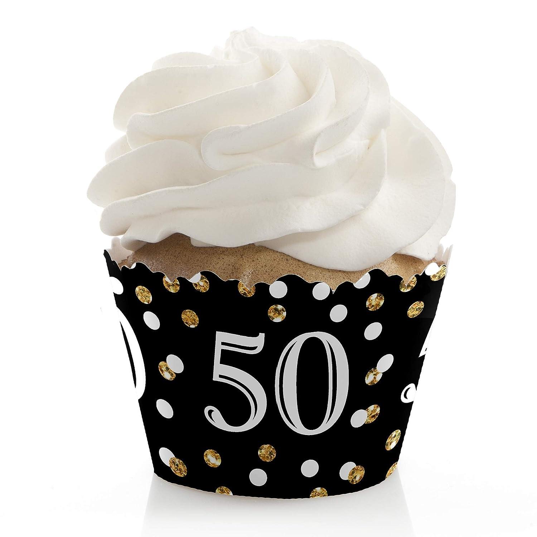 Amazon.com: Adultos 50º cumpleaños, color dorado – Fiesta de ...