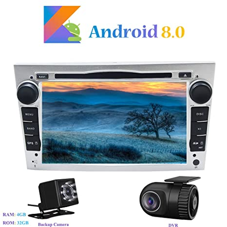 Android 8.0 Autoradio, Hi-azul 2 DIN Radio de Coche 7