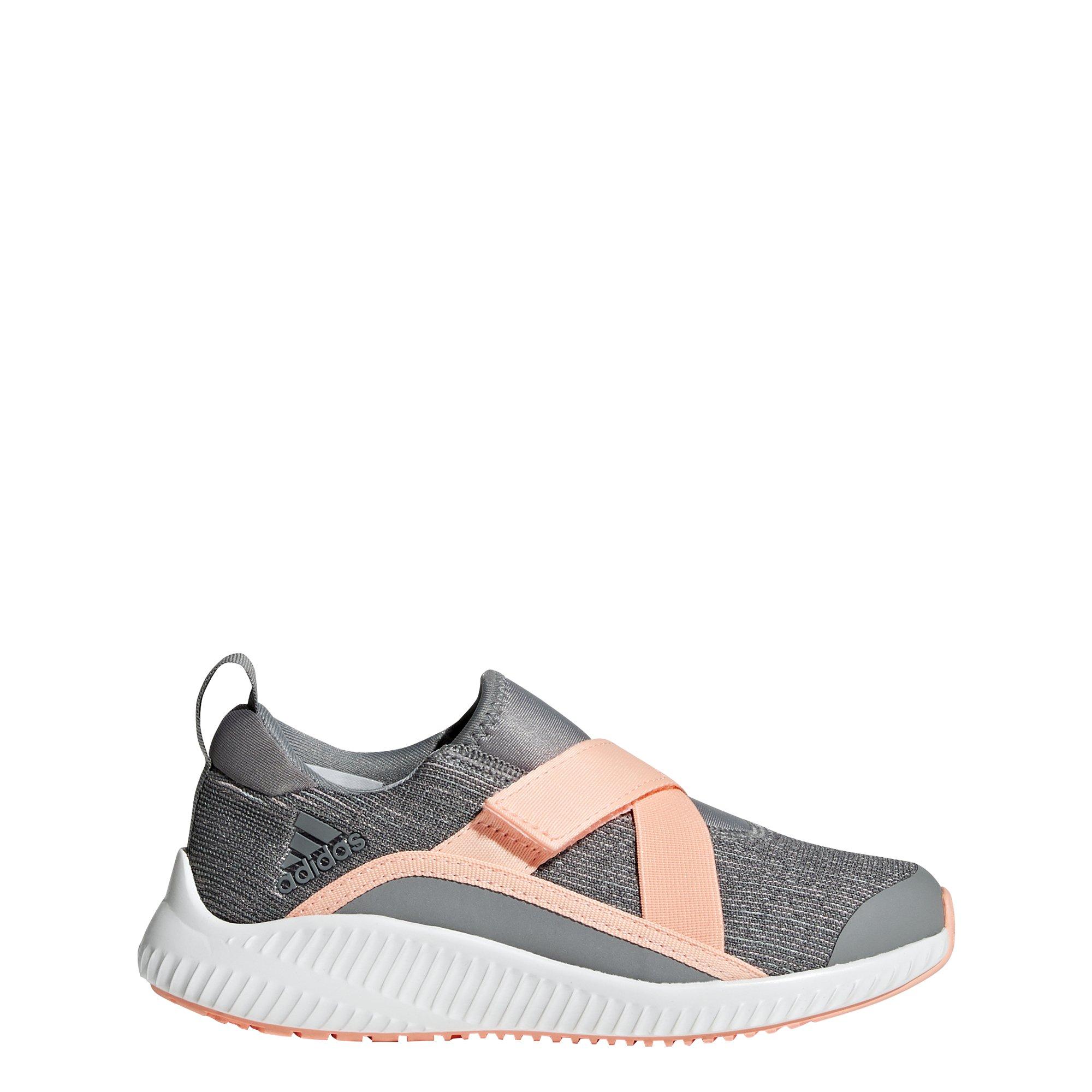 adidas Originals Unisex-Kids Fortarun Running Shoe, Grey/Clear Orange/Aero Green, 6.5 M US Big Kid