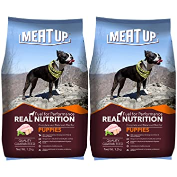 Buy Meat Up Puppy Dog Food 1 2 Kg Buy 1 Get 1 Free Online At