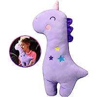 Unicorn Seat Belt Pillow Kids - Unicorn Seat Belt Cover, Vehicle Shoulder Pads, Safety Belt Protector Cushion for Kids…