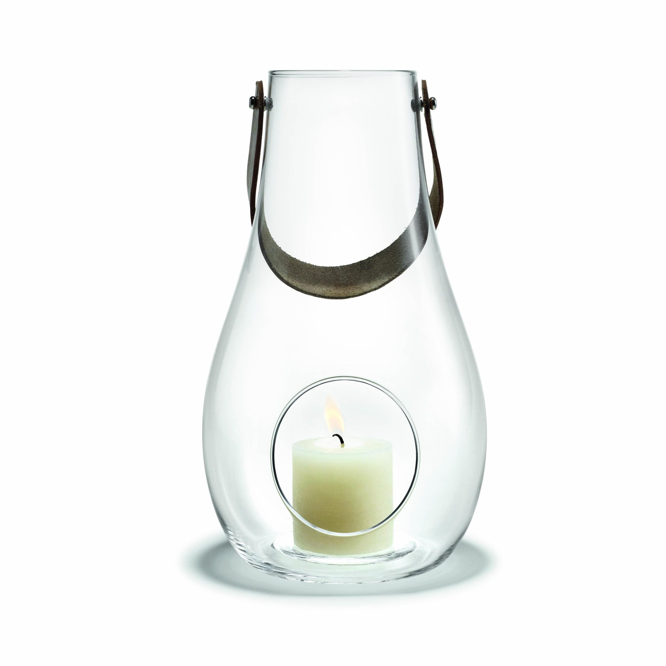 Holmegaard Design With Light By Maria Berntsen. Lantern Short (9.8 In. H)