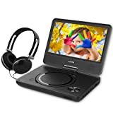 Amazon Price History for:WONNIE 7 Inch Portable DVD Player with Swivel Screen, USB / SD Slot and 4 Hours Rechargeable Battery, Perfect Gift for Kids ( Black )