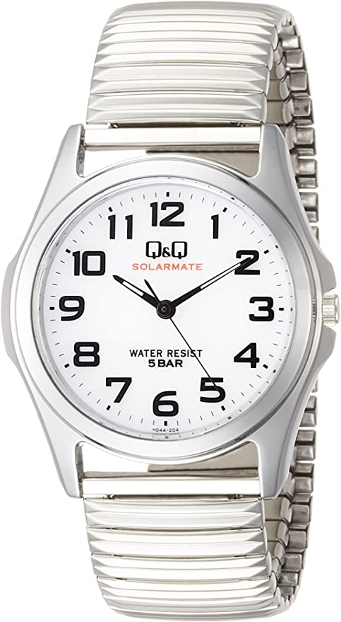 [シチズン Q&Q] 腕時計 SOLARMATE (ソーラーメイト) H044-204 メンズ シルバー