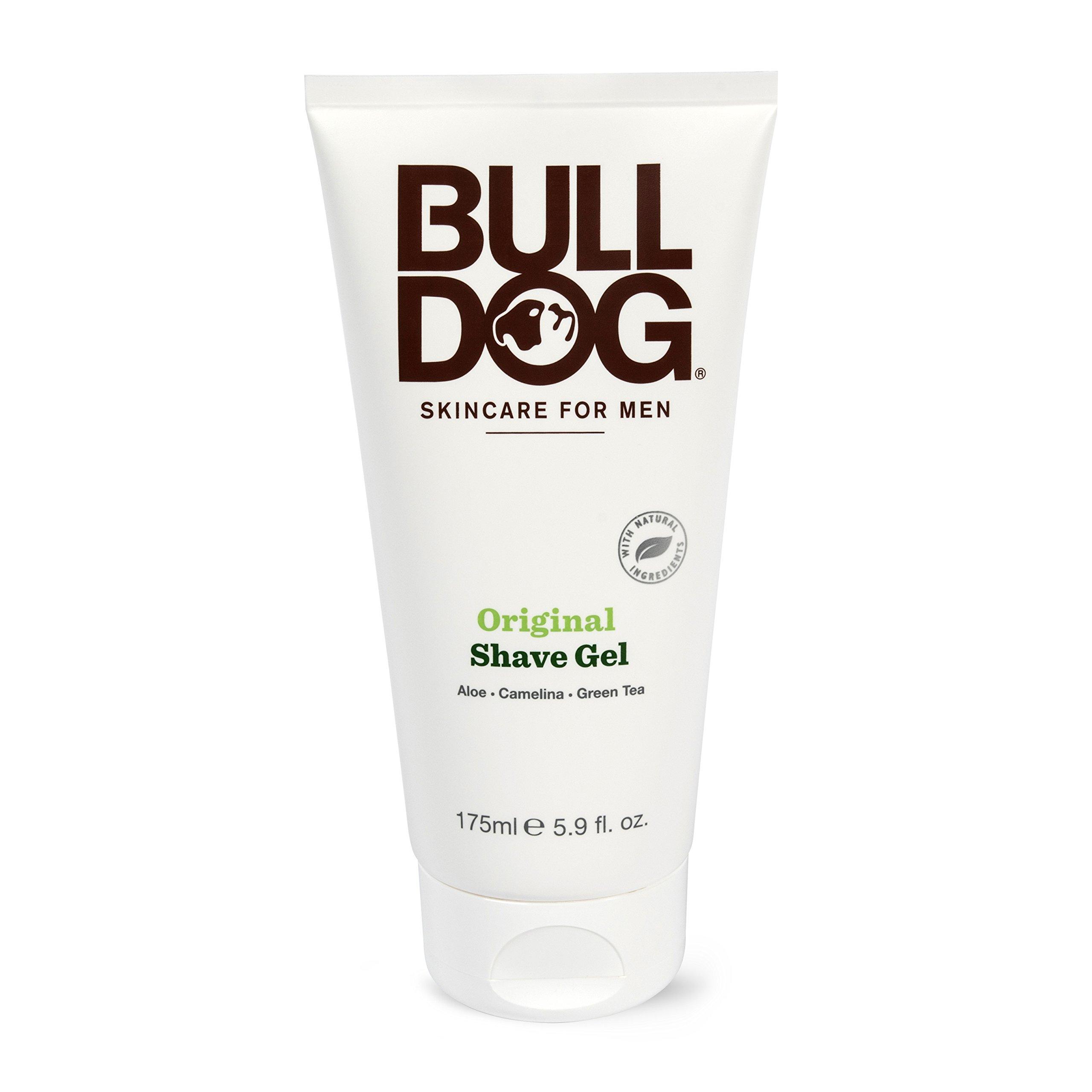 Bulldog Skincare and Grooming For Men Original Shave Gel, 5.9 Ounce