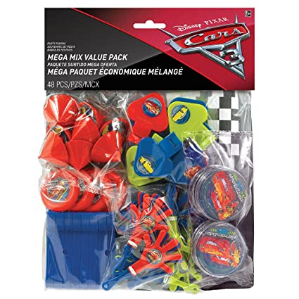 Amazon Cars 3 Favor Pack 48pc Toys Games