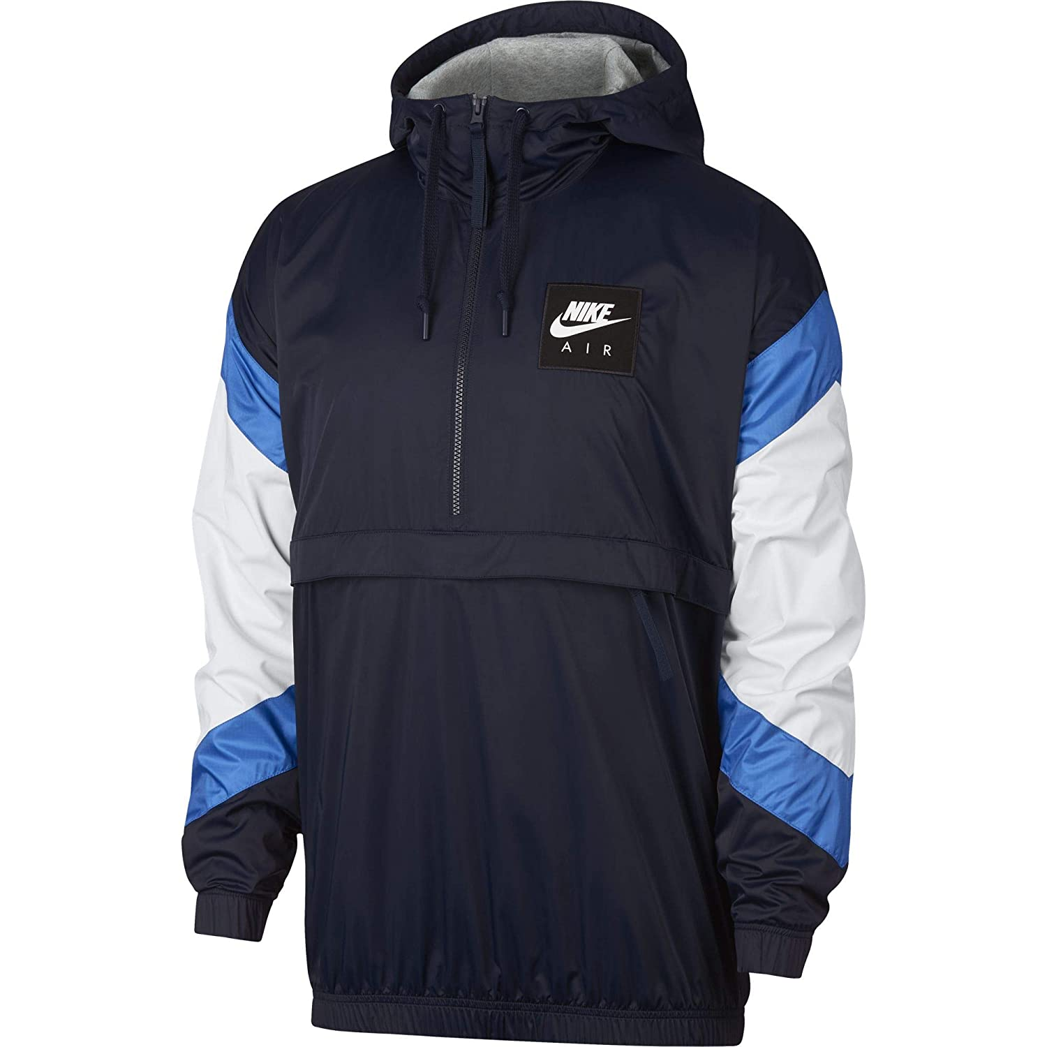Amazon.com: Nike Sportswear Air Mens Woven Anorak Jacket ...