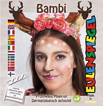 Eulenspiegel Motiv Set Bambi Amazon De Beauty